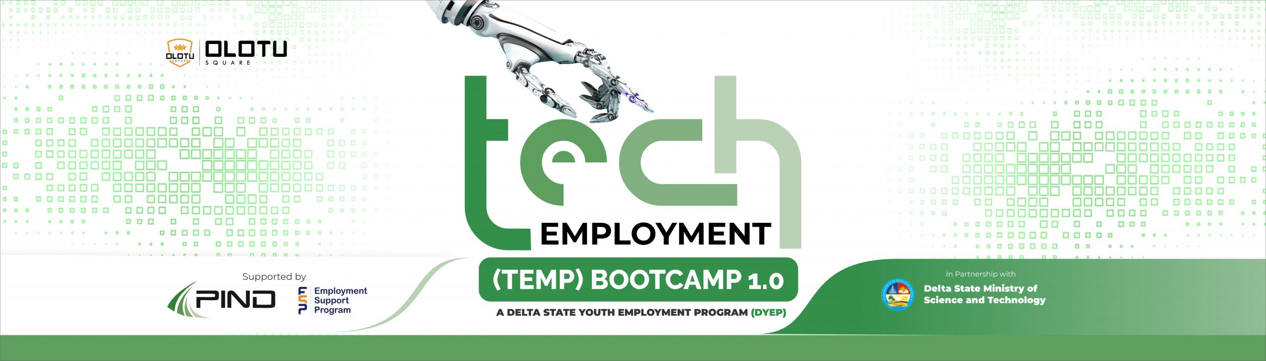 Technology Employment Bootcamp for Youths