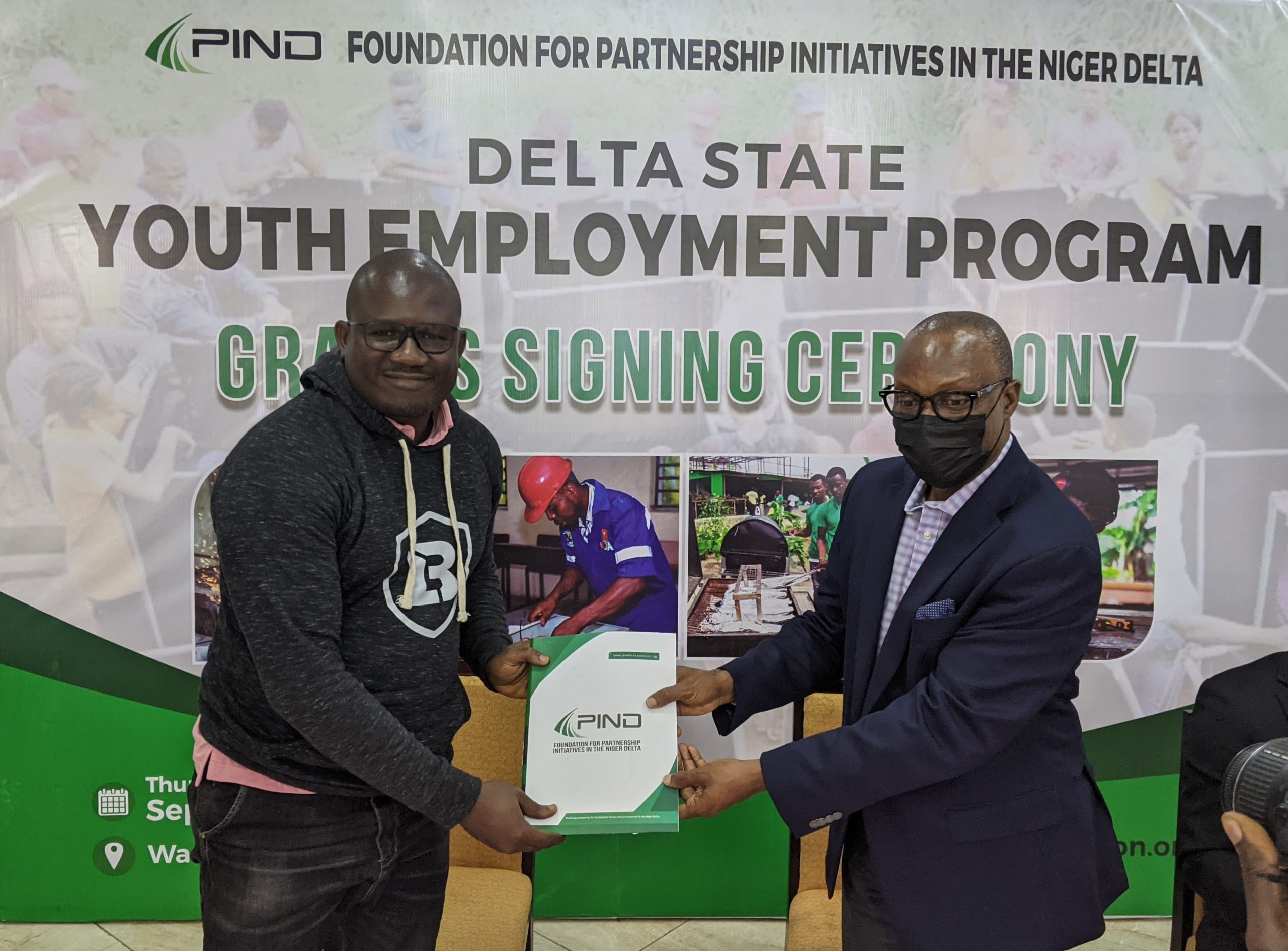 Olotusquare Secures Grant to train Youths in Delta State.